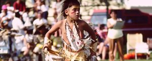 Delaware Pow Wow Dancer.