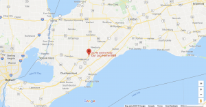 Google map picture of southwestern Ontario
